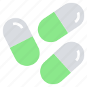 capsules, drugs, healthcare, medicine, pills, tablets icon
