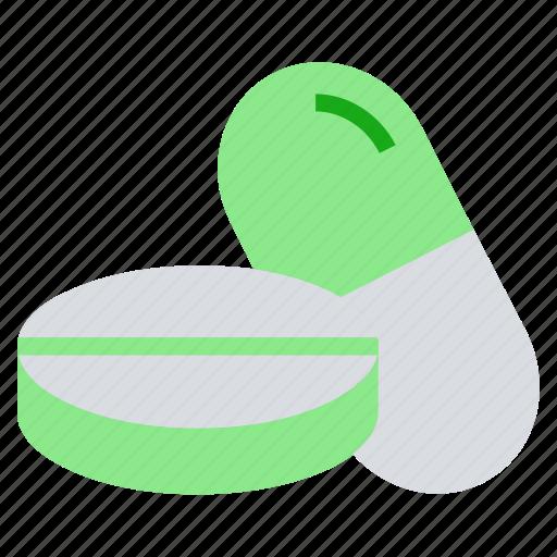 capsule, drugs, healthcare, medicine, pills, tablets icon