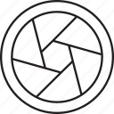 camera, filter, lens, lensfilter icon