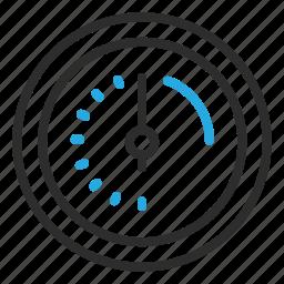 fast, optimize, speed, speedo, time icon