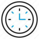 clock, event, schedule, time, watch icon