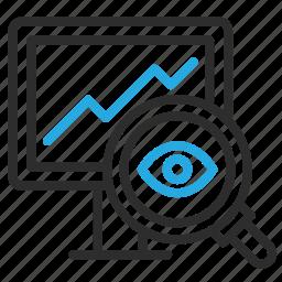 advertising, desktop, grow, marketing, monitor, optimization, seo icon