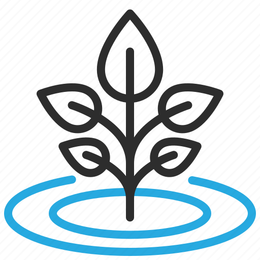 ecology, growth, plant, sprout icon