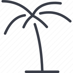 beach, dubai, island, palm, tree icon
