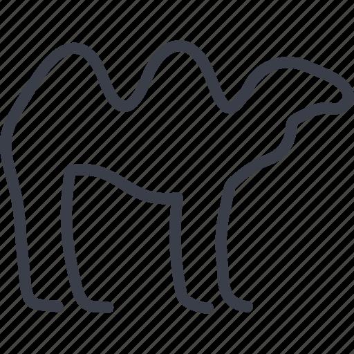 animal, arab, camel, desert ship, dubai, hump icon