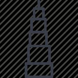 building, dubai, dubai building, hotel, restaurant, service icon