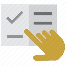 agree, agreement, approve, book, booking, choice, choose, chosen, contract, hand, mark, meal, menu, order, point, purchase, select, selection, selector, shopping, sign, signature, valid, validation icon