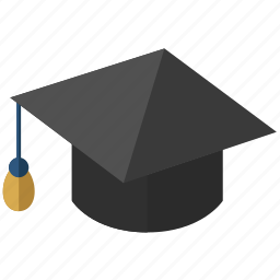 cap, clever, college, educate, education, hat, learn, learning, professor, school, schoolboy, science, scientist, stude, student, study, training icon