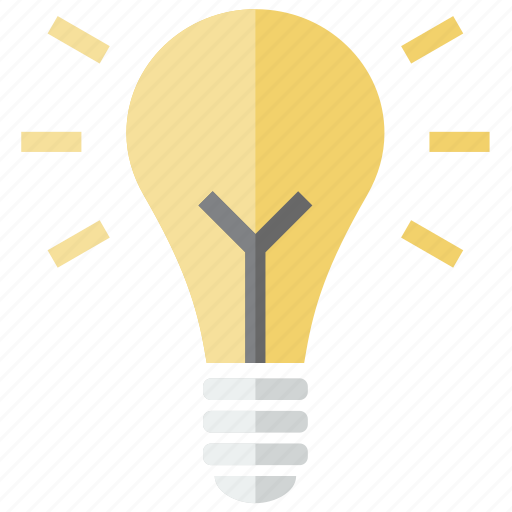 bulb, creative, electric, electrical, electricity, energy, idea, lamp, light, lightning, power icon