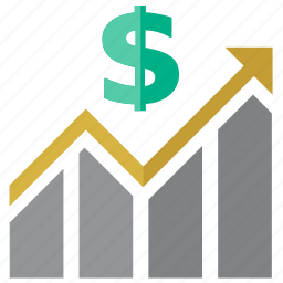 analytics, bar chart, business, chart, charts, diagram, dollar, finance, financial, gain, graph, growth, income, money, payment, price, profit, report, sale, sales, seo, statistics, up icon