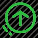 app update, ui, update, user interface icon