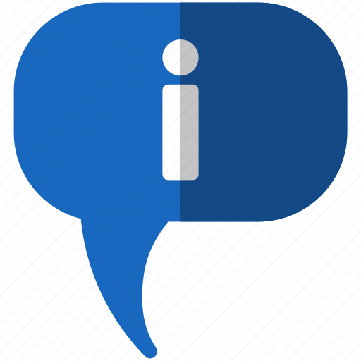 about, communication, help, info, information, message, question, support, talk icon