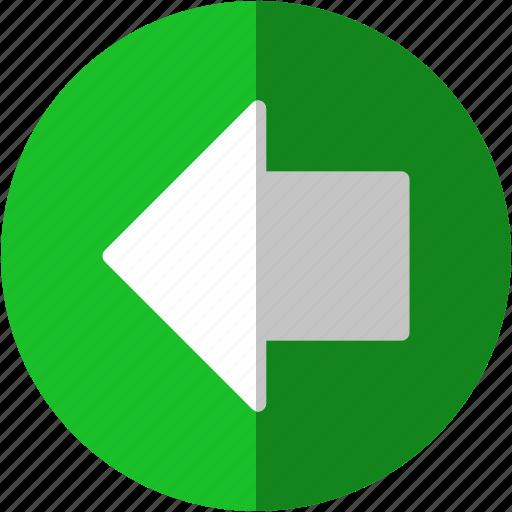 arrow, arrows, back, direction, go, left, move, previous, return, shift, undo icon