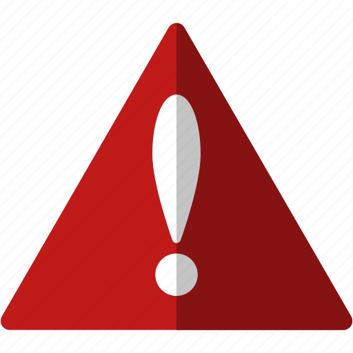 alert, attention, error, exclamation, problem, sign, stop, triangle, warning icon