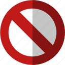 cancel, close, exit, forbidden, no, not allowed, remove, trash icon
