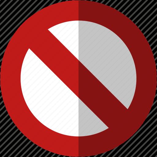 cancel, close, exit, forbidden, no, not allowed, remove, trash icon