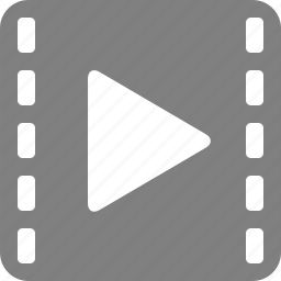 clip, media, movie, multimedia, play, player, video icon