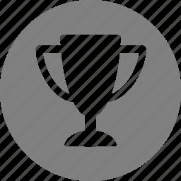 achievement, award, best, prize, reward, top, trophy icon