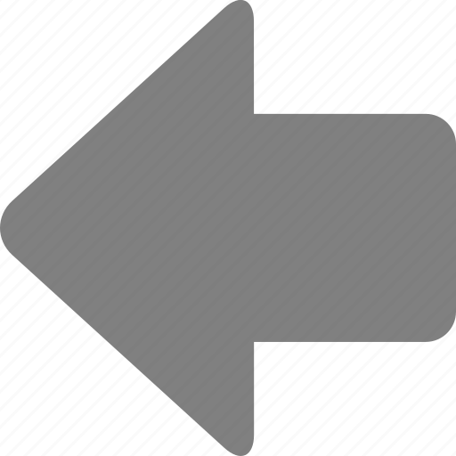 arrow, back, direction, left, move, navigation, previous icon