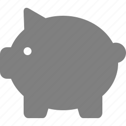 bank, change, finance, money, pig, piggybank, save icon