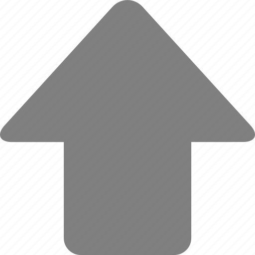 arrow, direction, move, navigation, top, up, upload icon