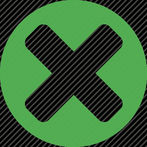 cancel, close, cross, delete, exit, recycle, remove icon