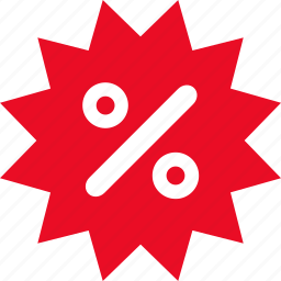 discount, label, offer, percent, price, sale, tag icon