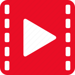 film, media, movie, multimedia, play, player, video icon