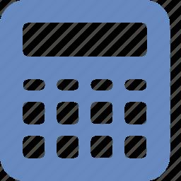 accounting, calc, calculation, calculator, math, mathematics icon