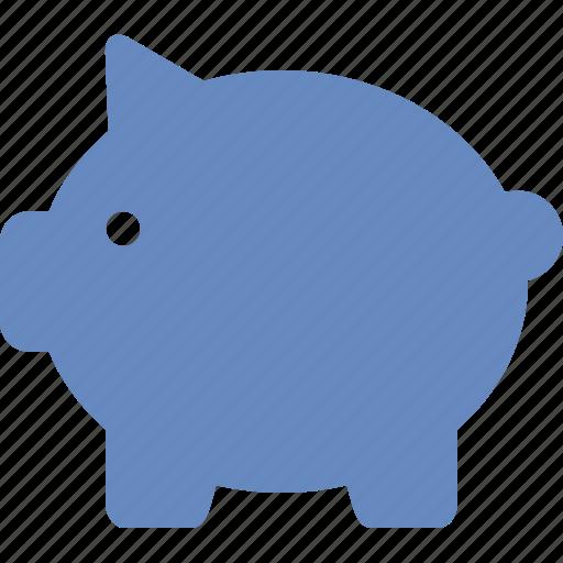 bank, banking, cash, money, pig, piggy, saving icon