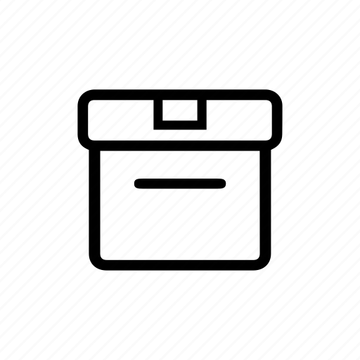 box, delivery, load, package, parcel, purchase, shopping icon