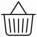 basket, cart, commerce, shop, shopping icon