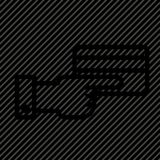 handingcard icon