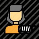 cartfemale icon