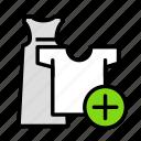 clothesadd icon