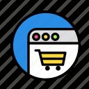 roundwebcart icon