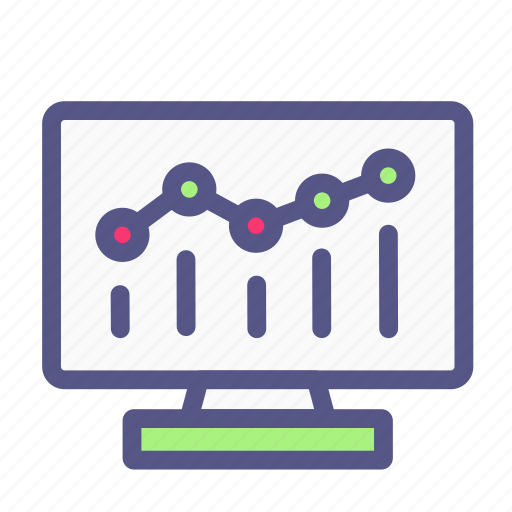 analytic, analytics, business, chart, ecommerce, graph, online shop icon