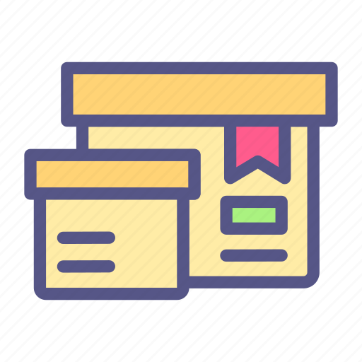 Box, ecommerce, package, delivery, shop, online shop icon - Download on Iconfinder