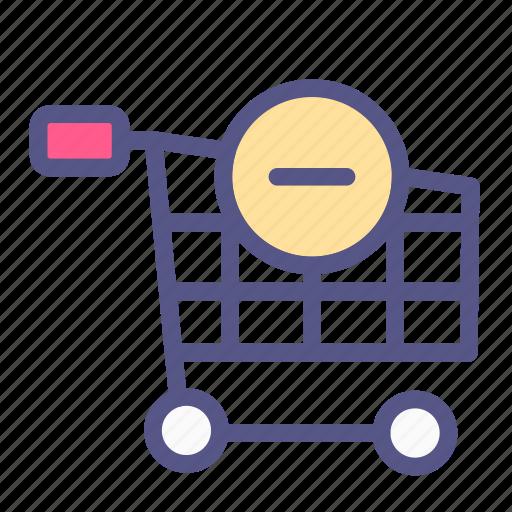 cancel, cart, ecommerce, online shop, remove, shop, shopping icon