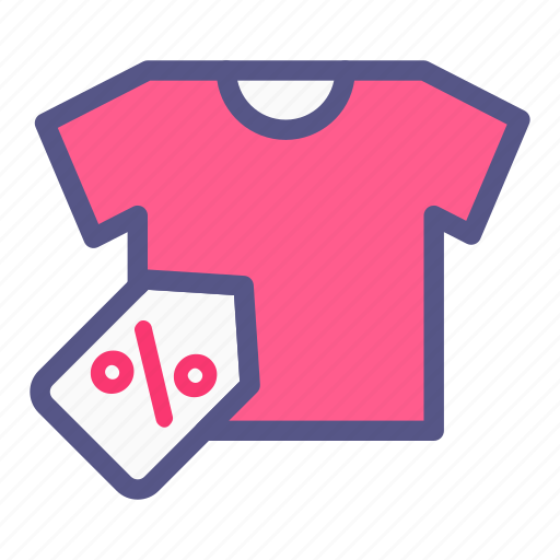 Discount, ecommerce, label, tshirt, online shop, sale icon - Download on Iconfinder