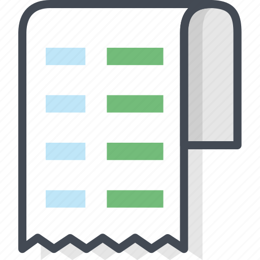 business, cashier, check, filled, outline icon