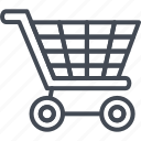 business, cart, line, ouline, shopping