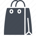 bag, business, shopping, solid icon