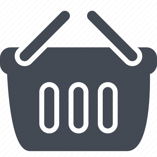 business, cart, shopping, solid icon