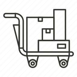 buy, cart, delivery, ecommerce, luggage, shop, shopping icon