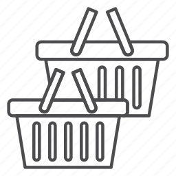 basket, buy, cart, shop, shopping icon