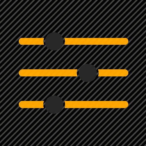 adjustment, audio, equilizer, multimedia, music, sound, volume icon