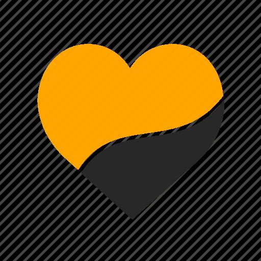 heart, interface, like, love, lover, piece, valentine icon