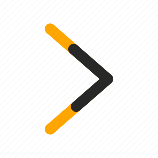 arrow, direction, move, navigation, next, right, skip icon