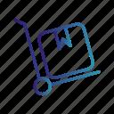 breifcase, shop, trolley icon